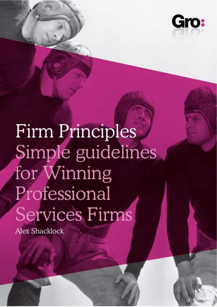 The firm Principles Book by theGrogroup
