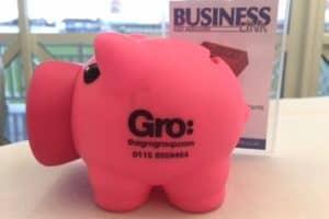 thegrogroup pink piggy on crusade